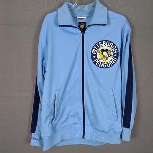 Pittsburgh Penguins Jacket, throwback colors (B53)